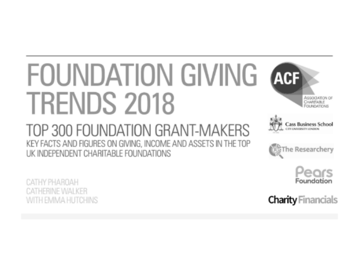 ACF Foundation Giving Trends 2018