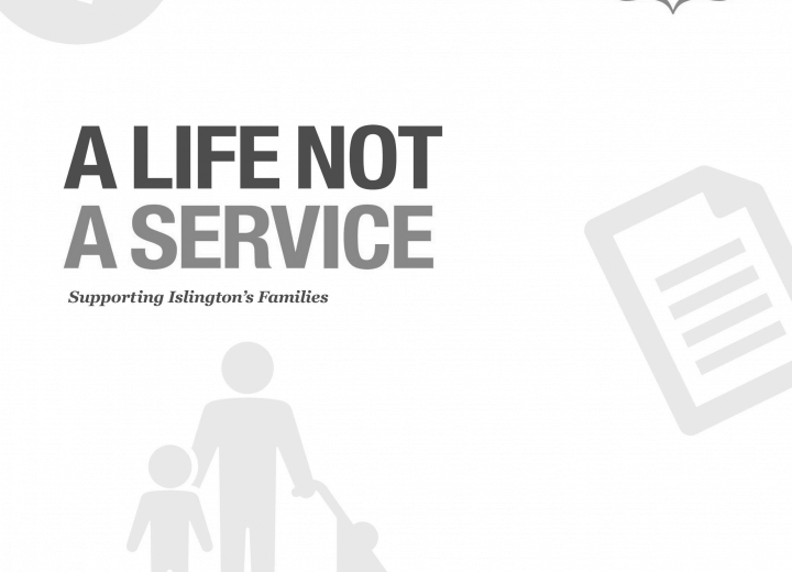 Islington Giving: A life not a service