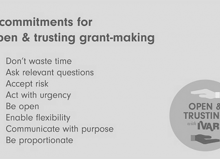 A call for open and trusting grant-making